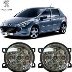 Proiectoare Ceata cu Leduri Peugeot 307 2001-2010 - Proiectoare tuning