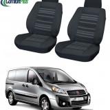 Huse Scaun Fiat Scudo 2 locuri 2007-2016 Confort Line - Husa Auto