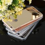 Cumpara ieftin Bumper / Husa silicon / Gel TPU cu spate oglinda pentru  iPhone 6 / 6s