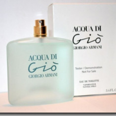 GIORGIO ARMANI Acqua Di Gio 100 ml Original Varianta Tester - Parfum femeie Armani, Apa de toaleta