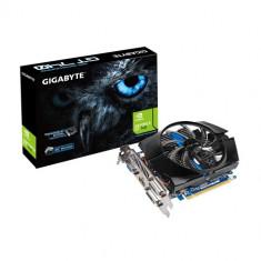 Gigabyte Placa video GIGABYTE NVIDIA, N740D5OC-2GI, GTX740, PCI-E, 2048MB GDDR5, 128bit, 993MHz, 5000 MHz, DV - Placa video PC