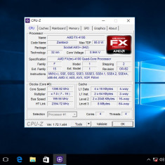 Amd FX 4100 Quad Core Gaming 3, 6 ghz socket AM3+ - Procesor PC AMD, Numar nuclee: 4, Peste 3.0 GHz
