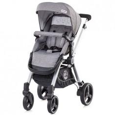 Carucior Mika 3 in 1 graphite - Carucior copii 3 in 1 Chipolino