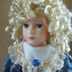 Vania, papusa de colectie din portelan de lux Knightsbridge Collection