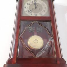 Ceas de perete cu pendula Gustav Becker