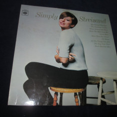 Barbra Streisand ‎– Simply Streisand _ vinyl, LP, album, UK - Muzica Pop Altele, VINIL