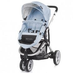 Carucior Ferrara baby blue 2015 - Carucior copii 2 in 1 Chipolino