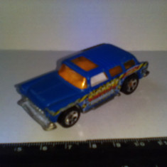 Bnk jc Hot Wheels 1969 - Chevy Nomad - Macheta auto