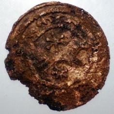 7.504 SLAVONIA UNGARIA STEPHEN V DENAR 1270-1272 15-17mm/0, 54g - Moneda Medievala, Europa