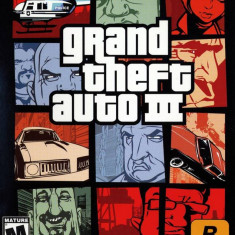 Grand Theft Auto III STEAM CD-KEY GLOBAL (COD ACTIVARE Steam) - Jocuri PC Rockstar Games, Role playing, 18+, Single player