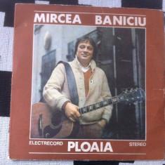 Mircea baniciu ploaia cu post scriptum disc vinyl lp Muzica Rock electrecord pop folk 1984, VINIL