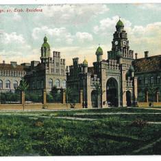 2375 - Bucovina, CERNAUTI, Palace - old postcard - used - 1907 - Carte Postala Bucovina 1904-1918, Circulata, Printata