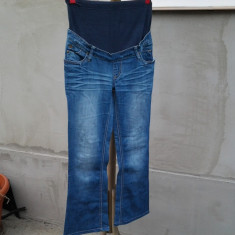 Esprit Maternity, pantaloni gravida, mar. 34 / XS - Pantaloni dama, Culoare: Din imagine