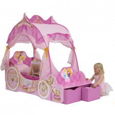 Pat Trasura Disney Princess - Pat tematic pentru copii Worlds Apart, 140x70cm, Roz