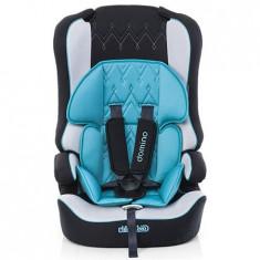 Scaun Auto Chipolino Domino Turquoise 2016 - Scaun auto copii Chipolino, 1-2-3 (9-36 kg), Isofix
