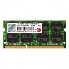 DDR3 SODIMM Transcend 4GB 1333MHz CL9 1.35V - Memorie RAM laptop