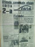 Seara 30 octombrie 1939 Constanta Cluj Marea Neagra Giulesti caricatura gluma