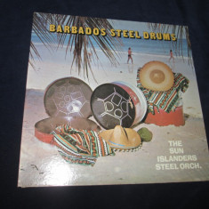 The Sun Islanders Steel Orch. ‎– Barbados Steel Drums_vinyl,LP,Canada, VINIL