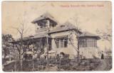 #1912- Ro, Bucuresti cp. UPU circ.1909: Expo.Nat. 1906, Ospataria Regala, anim., Circulata, Fotografie