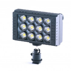 Lampa video cu 12 Leduri Wansen W12 II - Lampa Camera Video