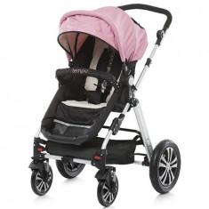 Carucior Tempo 2 in 1 pink 2015 - Carucior copii 2 in 1 Chipolino