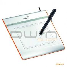"""GENIUS Tableta Grafica Genius MousePen I405X, 4"""" x 5.5"""" working area, 2560 LPI, 1024-level pressure"""