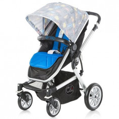 Carucior Brillo london blue 2015 - Carucior copii 2 in 1 Chipolino