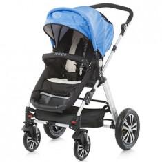 Carucior Tempo 2 in 1 blue 2015 - Carucior copii 2 in 1 Chipolino