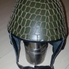 Casca militara parasutist (stoc de razboi)