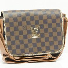 Geanta / Poseta de mana sau de umar Louis Vuitton LV + Cadou Surpriza - Geanta Dama Louis Vuitton, Culoare: Din imagine, Marime: One size, Geanta de umar, Bumbac