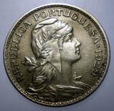 A.128 PORTUGALIA 50 CENTAVOS 1929, Europa, Cupru-Nichel