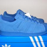 Adidasi Adidas Superstar RT AQ4165 din piele intoarsa nr. 39 1/3 - Adidasi barbati, Culoare: Albastru