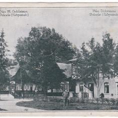 #1902- Romania, Valcele, Elopatak cp circulata 1929: Vila Goldstein si Dobrescu - Carte Postala Transilvania dupa 1918, Fotografie