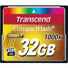 Card memorie Transcend Compact Flash 1000x 32GB - Card Compact Flash