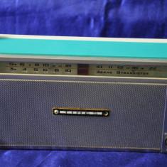 Radio portabil de colectie TIMES - 3 Band 9 Transistor. Radio vechi,de colectie