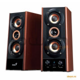 Boxe 2.0 Genius SP-HF 1250B Cherry(wood), 40W RMS, 31731022100 - Boxe PC