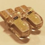 LED W5W Pozitie - Numar - Plafoniera LUPA 2 COB - Led auto, Universal