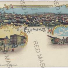 650 - L i t h o, Bucovina, CERNAUTI - old postcard - unused - Carte Postala Bucovina pana la 1904, Necirculata, Printata