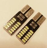 LED W5W Pozitie - Numar - Plafoniera 24 SMD CANBUS, Universal