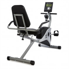 CAPITAL SPORTS SWIZOR X, gri, bicicletă de șezut, 4 kg, senzor de ritm cardiac - Bicicleta fitness