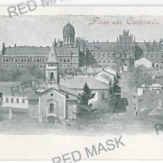 1204 - L i t h o, Bucovina, CERNAUTI, Panorama - old postcard - unused - Carte Postala Bucovina pana la 1904, Necirculata, Printata