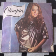OLIMPIA PANCIU album disc vinyl lp Muzica Pop electrecord usoara slagare romanesti 1985, VINIL