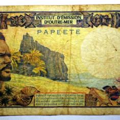 96. TAHITI PAPEETE 500 FRANCS FRANCI ND (1985) SR. 205