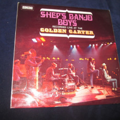 Sheps Banjo Boys - Recorded Live At The Golden Garter _ vinyl, UK, 1970 - Muzica Folk Altele, VINIL
