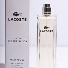 TESTER Lacoste Pour Femme MADE IN FRANCE - Parfum femeie Lacoste, Apa de parfum, 90 ml