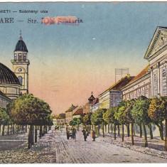 Romania, Szatmarnemeti, Satu Mare, cp. 1919, circulata 1950: Str. I.Frimu - Carte Postala Maramures dupa 1918, Fotografie