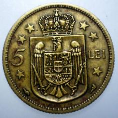 7.786 ROMANIA MIHAI I 5 LEI 1930 PARIS - Moneda Romania, Alama