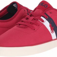 Adidasi/Pantofi sport Ralph Lauren HALFORD RED masura 42 - Adidasi barbati Ralph Lauren, Culoare: Rosu