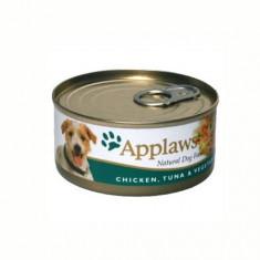 Applaws Dog Adult Piept de Pui, Ton si Legume, Conserva 156 gr - Mancare caini