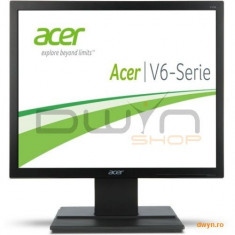 17' ACER V176LB LED, 1280x1024, 5:4, 5ms, 250cd/mp, 1000:1 (100.000.000:1), 170/160, DVI, D-SUB, Neg - Monitor LED Acer, 17 inch
